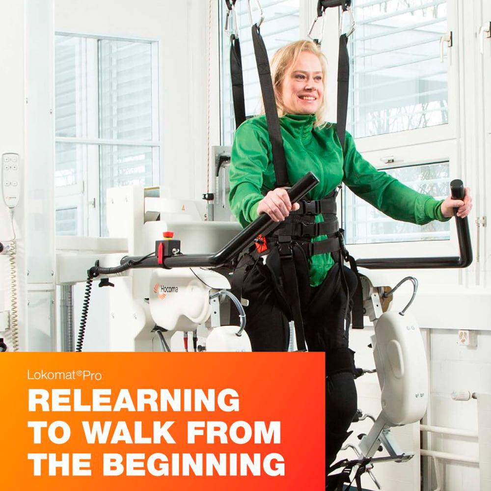 antrenamentul asistat de robot lokomat